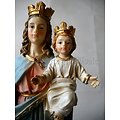 STATUE AUXILIATRICE VIERGE MARIE/NOTRE DAME