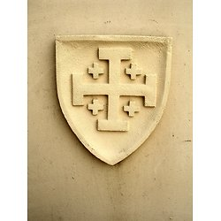 BLASON TEMPLIER DU ST SEPULCRE/ORDRE HOSPITALIER/JERUSALEM