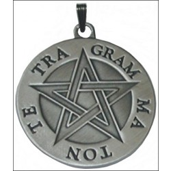 Pendentif Tétragrammaton/Pentacle Divin/Pythagore