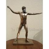 Statue de Zeus style bronze/Mythologie/Grèce Antique
