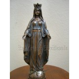 VIERGE OUVRANTE/STATUE TRYPTIQUE VIERGE MARIE 28cm