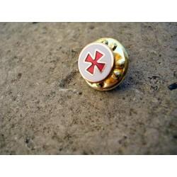 Pin's Croix du Templier/Franc-Maçonnnerie