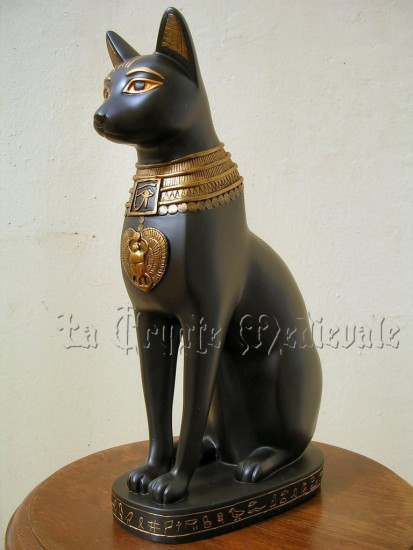 CHAT BASTET GM/EGYPTE ANTIQUE/PHARAON/MEDIEVAL/MYTHE