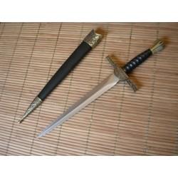 Dague/Épée/Duncan Mac Leod/Highlander/Ecosse/Moyen Age/Armure