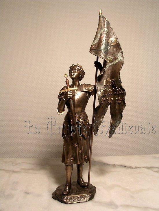 JEANNE D'ARC AU SACRE/ARMURE/MOYEN AGE