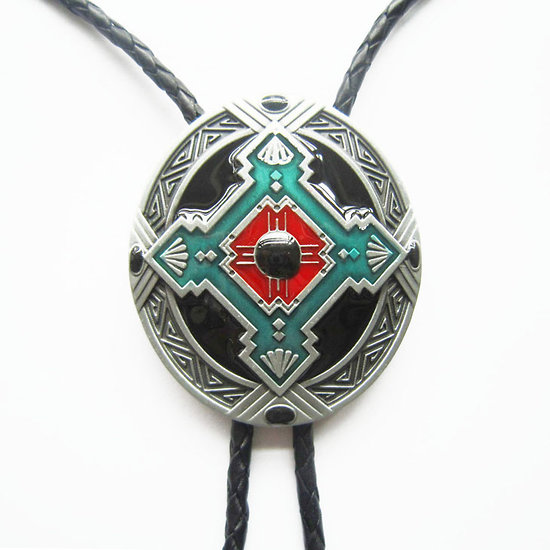 BOLO TIE INDIEN/SIOUX/NATIVE/WESTERN/COUNTRY