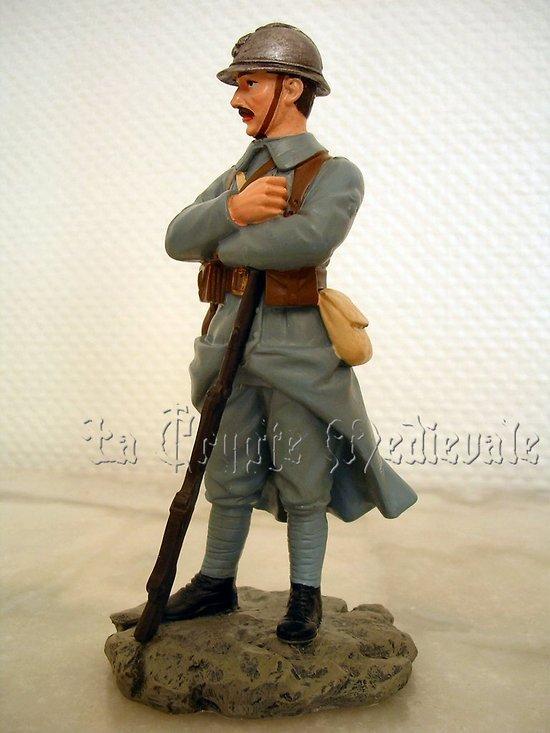 Soldat Français 1918/Poilu/Guerre 1914/1918