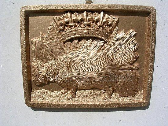 Blason Ordre du Porc-Epic/Valois-Orléans/Louis De France