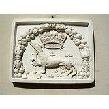 Blason aux HERMINES/ Bretagne/Armoieries/Medieval/Chateau/