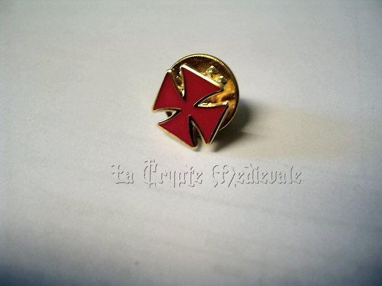 PIN'S TEMPLIER/CROIX PATTEE/CROISADES 2