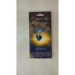 COEUR DE CRISTAL TURQUOISE/Méditation/RENAISSANCE