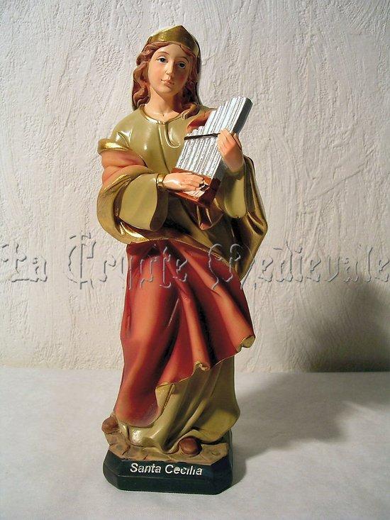 Sainte-Cécile couleur/Martyre/Patronne des Musiciens