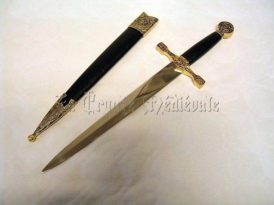 Dague Excalibur Avec Fourreau/La légende du Roi Arthur