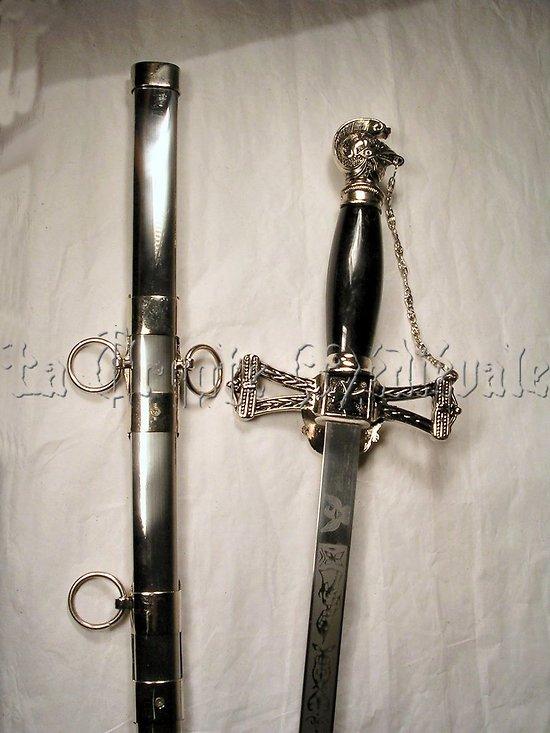 épée de Franc-Maçonnerie/Templiers/Loge