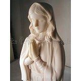 Statue de la VIERGE MARIE en prière GM/RELIGION CATHOLIQUE/SAINTE MARIE