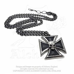 Alchemy Gothic Collier Black Knight's Cross