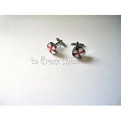 BOUTONS DE MANCHETTES  TEMPLIER/CROIX DE L'ORDRE /T
