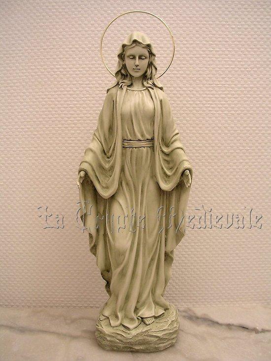 Statue de la VIERGE MIRACULEUSE GM/RELIGION CATHOLIQUE/