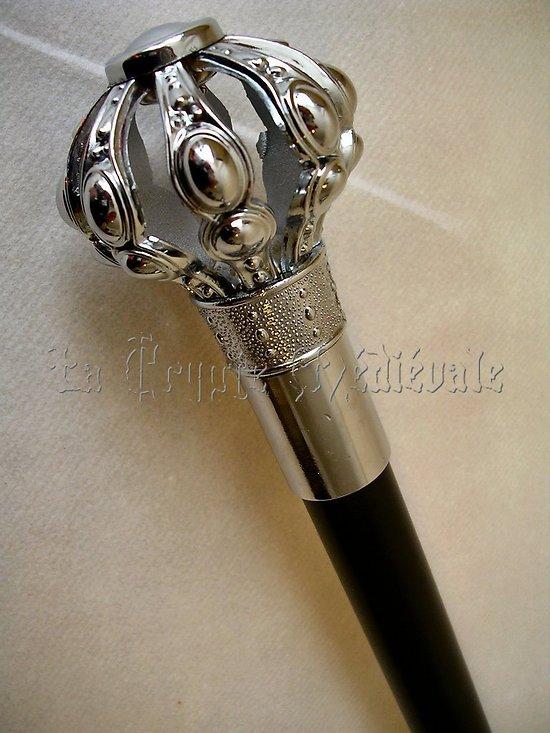 Canne épée Royale Monarque/steampunk/Dandy