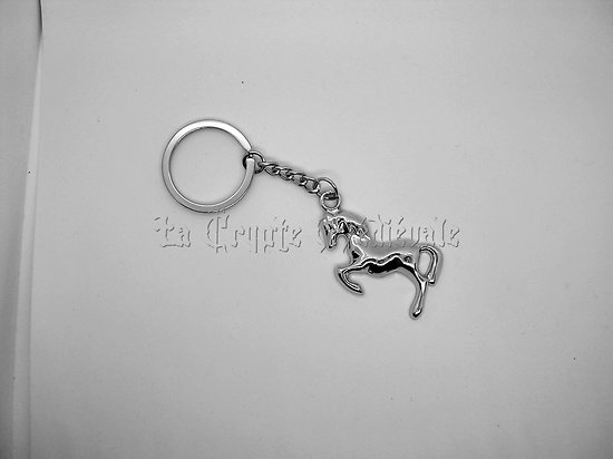 Porte clefs Cheval cabré/ Equitation