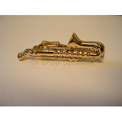PINCE A CRAVATE SAXOPHONE/JAZZ/SWING