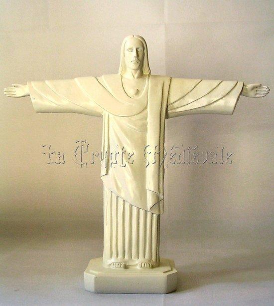 CHRIST de RIO/CORCOVADO/REDEMPTEUR/29cm