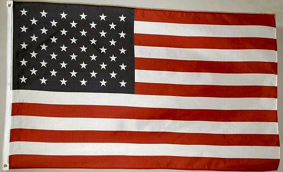 DRAPEAU U.S.A./ETATS-UNIS/AMERIQUE 150X90cm