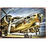 PLAQUE METAL AVION LIBERTY BELLE B17 (copy)