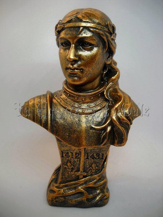 BUSTE DE JEANNE D'ARC D'APRES FRIEDRICH GOLDSCHEIDER