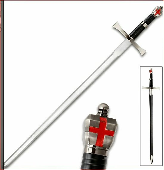 EPEE D'AGUILAR ASSASSIN'S CREED/TEMPLIER