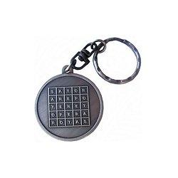 Porte clef carré sator