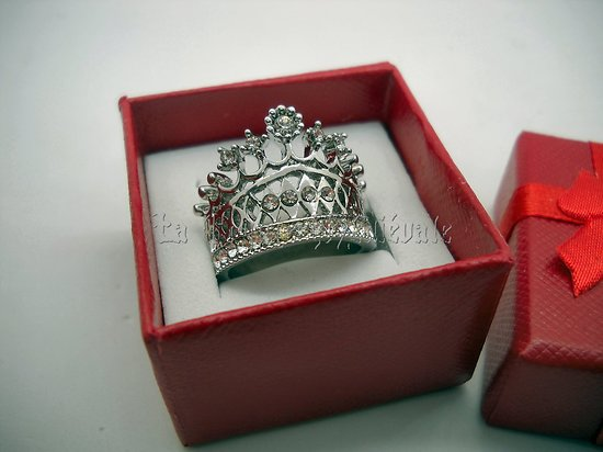 BAGUE COURONNE IMPERATRICE