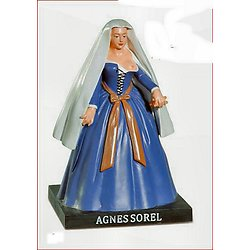 AGNES SOREL/FAVORITE DU ROI CHARLES VII