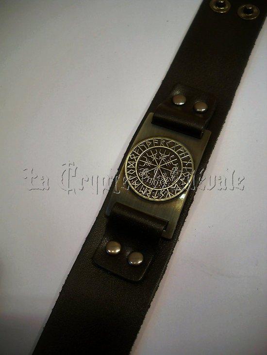 bracelet viking compas islandais huld. Black Bedroom Furniture Sets. Home Design Ideas