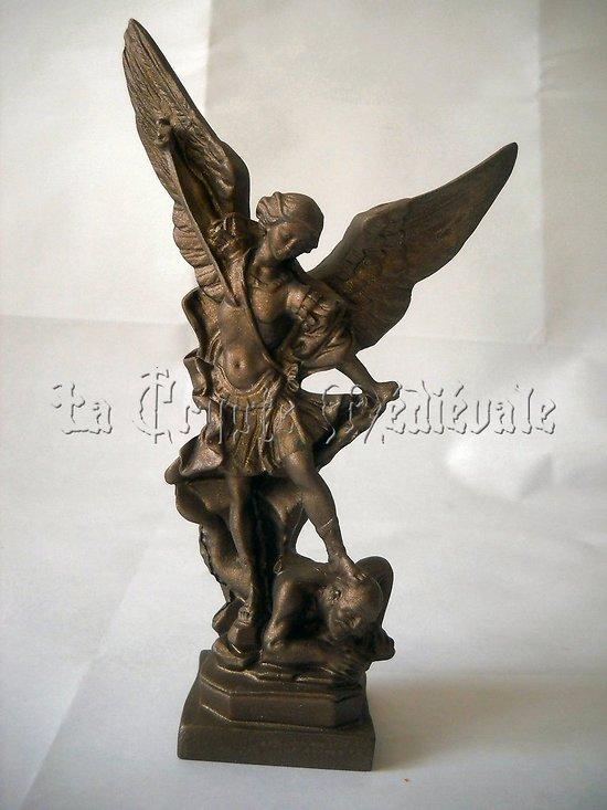 statue SAINT MICHEL ARCHANGE BRZ