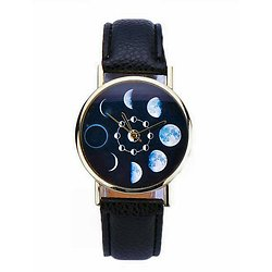 MONTRE BRACELET CYCLE DE LA LUNE