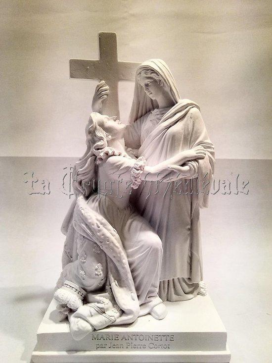 MARIE ANTOINETTE SOUTENUE PAR LA RELIGION/J.P.CORTOT
