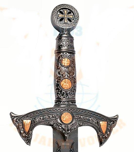 épée Templier des Croisades