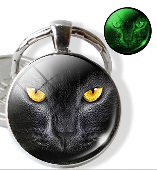 PORTE CLEF CHAT/EYE OF THE CAT