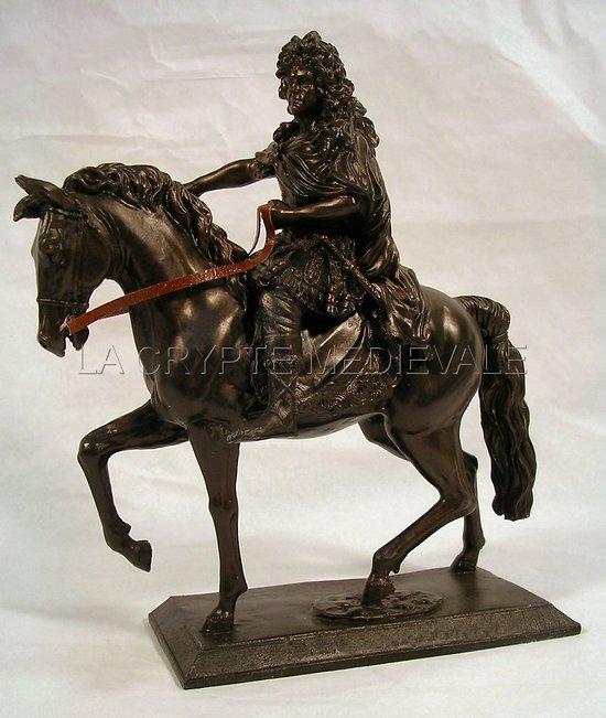 Louis XIV à Cheval/Roi Soleil/Versailles/France/Lys/