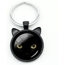 PORTE CLEF CHAT 2/CAT'S EYE