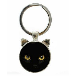 PORTE CLEF CHAT 3/CAT'S EYE