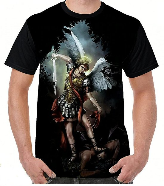 TEE SHIRT ARCHANGE SAINT MICHEL