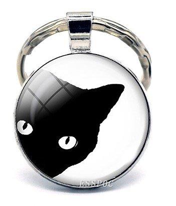 PORTE CLEF CHAT 4/CAT'S EYE