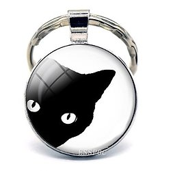 PORTE CLEF CHAT 4/CAT'S EYE