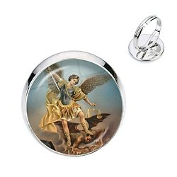 BAGUE ARCHANGE SAINT MICHEL 2
