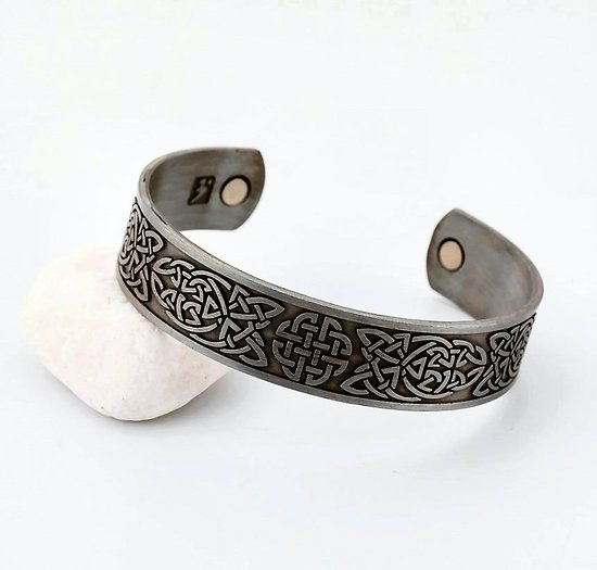 BRACELET MAGNETIQUE NOEUDS VIKING/NORDIQUE