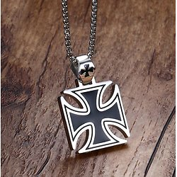 PENDENTIF IRON CROSS/BIKERS/MALTE