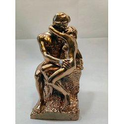 Le Baiser de Rodin doré/salon de Paris 1898
