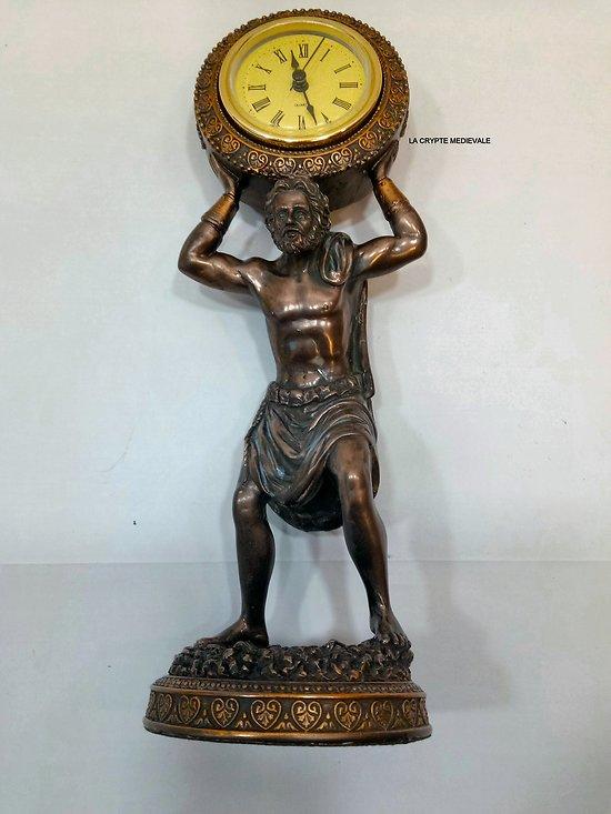 Géant ATLAS HORLOGE/Mythologie Grecque/Titan/Zeus/Olympe